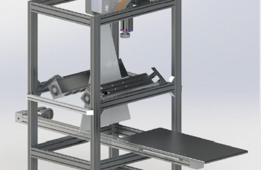 Specim 100 x 50 Pushbroom Table Type LabScanner
